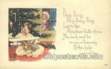 hol003416 - Santa Claus Postcard, Chirstmas Post Card Old Vintage Antique Carte, Postal Postal