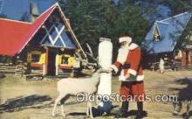 hol003434 - Cascade Colorado, USA Santa Claus Postcard, Chirstmas Post Card Old Vintage Antique Carte, Postal Postal