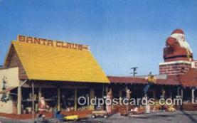 hol003436 - Santa Claus, California USA Santa Claus Postcard, Chirstmas Post Card Old Vintage Antique Carte, Postal Postal