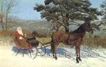 hol003438 - Santa Claus Postcard, Chirstmas Post Card Old Vintage Antique Carte, Postal Postal