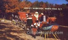 hol003451 - North Pole New York, USA Santa Claus Postcard, Chirstmas Post Card Old Vintage Antique Carte, Postal Postal