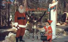 hol003456 - Santa Claus, California USA Santa Claus Postcard, Chirstmas Post Card Old Vintage Antique Carte, Postal Postal