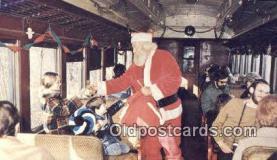 hol003472 - Essex, Conn USA Santa Claus Postcard, Chirstmas Post Card Old Vintage Antique Carte, Postal Postal