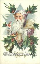 hol003548 - Santa Claus Postcard, Chirstmas Post Card Old Vintage Antique Carte, Postal Postal