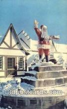 hol003573 - Santa Claus Postcard, Chirstmas Post Card Old Vintage Antique Carte, Postal Postal