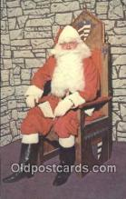 hol003575 - Santa Claus Postcard, Chirstmas Post Card Old Vintage Antique Carte, Postal Postal