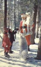 hol003577 - Bracebridge, Muskoka, Canada Santa Claus Postcard, Chirstmas Post Card Old Vintage Antique Carte, Postal Postal
