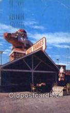hol003582 - Santa Claus, California USA Santa Claus Postcard, Chirstmas Post Card Old Vintage Antique Carte, Postal Postal