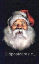 hol003606 - Santa Claus Postcard, Chirstmas Post Card Old Vintage Antique Carte, Postal Postal