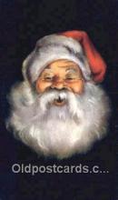hol003607 - Santa Claus Postcard, Chirstmas Post Card Old Vintage Antique Carte, Postal Postal