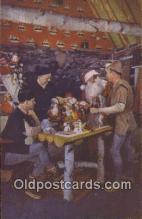 hol003609 - Wilmington, NY YSA Santa Claus Postcard, Chirstmas Post Card Old Vintage Antique Carte, Postal Postal