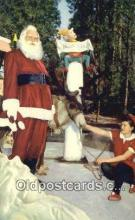 hol003610 - Skyforest, California, USA Santa Claus Postcard, Chirstmas Post Card Old Vintage Antique Carte, Postal Postal