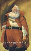 hol003614 - Santa Claus, Indiana, USA Santa Claus Postcard, Chirstmas Post Card Old Vintage Antique Carte, Postal Postal