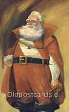 hol003615 - Santa Claus, Indiana, USA Santa Claus Postcard, Chirstmas Post Card Old Vintage Antique Carte, Postal Postal