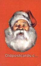 hol003616 - Dale W. Kehl Printer, Denver Co, USA Santa Claus Postcard, Chirstmas Post Card Old Vintage Antique Carte, Postal Postal