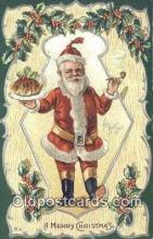 hol003620 - Santa Claus Postcard, Chirstmas Post Card Old Vintage Antique Carte, Postal Postal