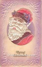 hol003625 - Santa Claus Old Vintage Postcard