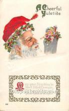 hol003630 - Santa Claus Old Vintage Postcard