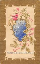 hol003643 - Santa Claus Old Vintage Postcard