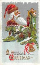 hol003662 - Santa Claus Old Vintage Postcard