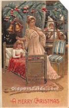 hol003666 - Santa Claus Old Vintage Postcard