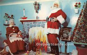 hol003675 - Santa Claus Old Vintage Postcard