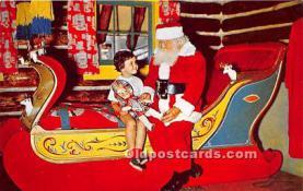 hol003684 - Santa Claus Old Vintage Postcard