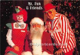 hol003687 - Santa Claus Old Vintage Postcard