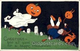 hol004260 - Halloween Postcard