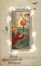 hol006081 - Halloween Postcard Postcards
