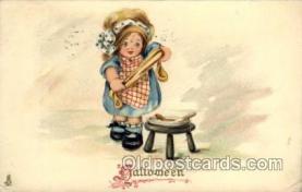 hol006131 - Halloween Postcard Postcards