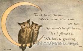 hol007093 - Halloween Postcard Postcards