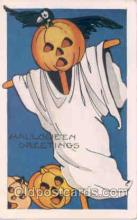 hol008074 - Whitney Halloween Postcard Postcards