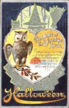 hol008089 - Halloween Postcard Postcards