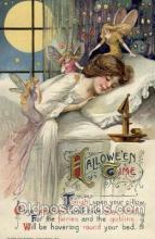 hol009009 - Artist Samuel Schmucker Halloween Postcard Postcards