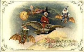 hol010022 - Artist Samual Schmucker Halloween Postcard Postcards