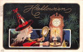 hol012725 - Halloween Post Card Old Vintage Antique