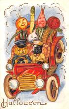 hol012839 - Halloween Post Card Old Vintage Antique