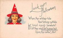 hol013007 - Halloween Vintage Post Cards