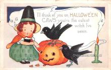 hol013021 - Halloween Vintage Post Cards