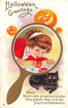 hol013025 - Halloween Vintage Post Cards