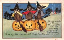 hol013027 - Halloween Vintage Post Cards
