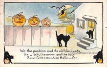 hol013029 - Halloween Vintage Post Cards
