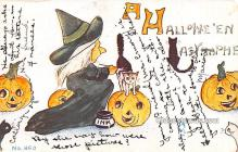hol013037 - Halloween Vintage Post Cards
