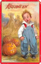 hol013041 - Halloween Vintage Post Cards