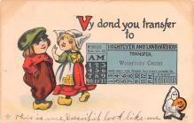 hol014183 - Halloween Post Card Old Vintage Antique