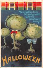 hol014251 - Halloween Post Card Old Vintage Antique
