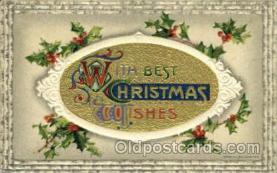 hol015003 - Christmas Postcards Post Card