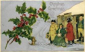 hol015009 - Christmas Postcards Post Card