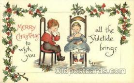 hol015010 - Christmas Postcards Post Card